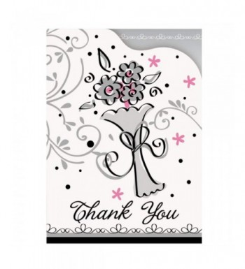 Wedding Style Thank Note Cards