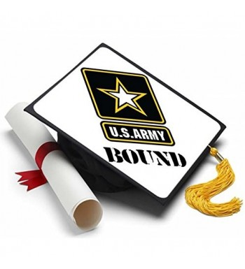 Tassel Toppers Army Graduation Decorated