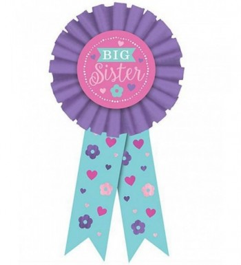 Shower Purple Big Sister Ribbon