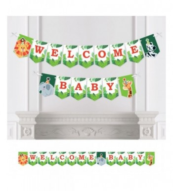 Jungle Party Animals Bunting Decorations
