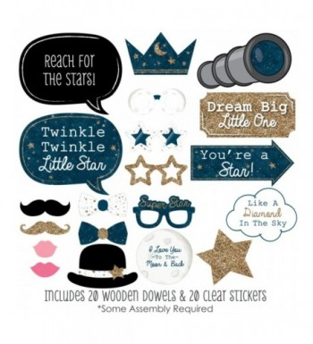 Trendy Baby Shower Party Photobooth Props