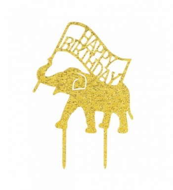 WeBenison Birthday Elephant Decorations Supplies