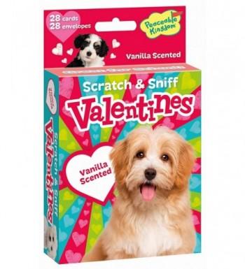 Peaceable Kingdom Vanilla Valentines Envelopes