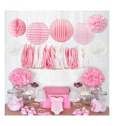 HappyField Decorations Birthday Lanterns Honeycomb