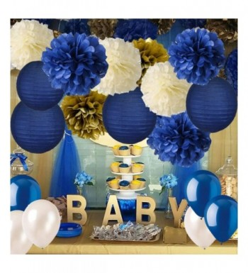 Decorations Navy Lanterns Graduation Bachelorette Engagement