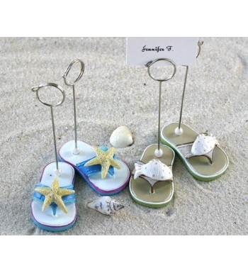 Beachcombers Flip Flop Place Holders