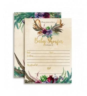 Watercolor Succulents Invitations Envelopes AmandaCreation