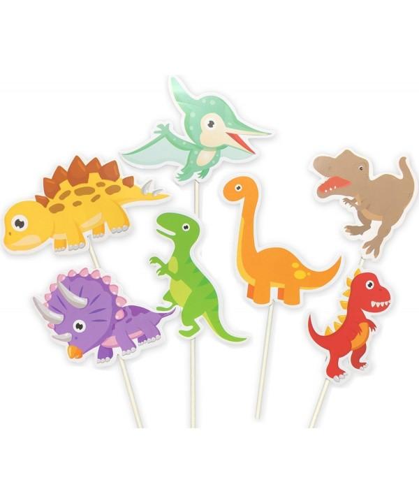 35 pack Dinosaur Birthday Decorations Supplies
