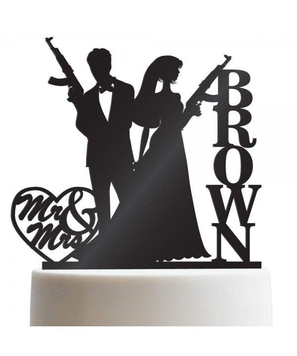 Amendment Personalized Wedding Customized Toppers