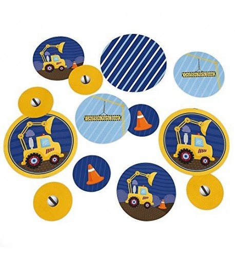 Construction Truck Shower Birthday Confetti