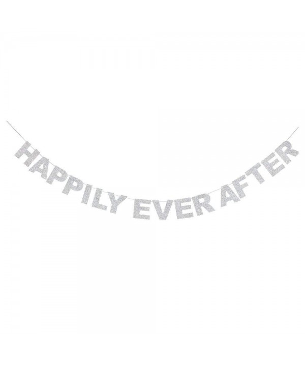 Happily Glitter Bunting Creative Decorations