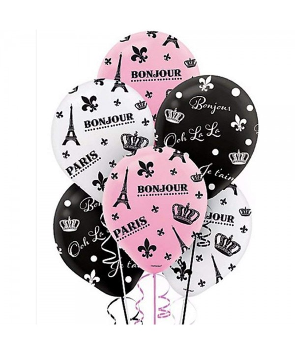 Bridal Shower Day Paris Balloons