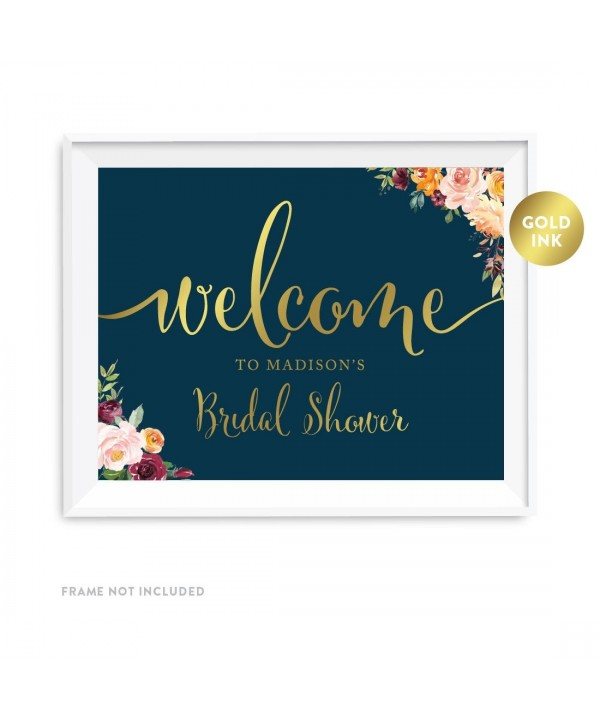 Andaz Press Personalized 8 5x11 inch Decorations