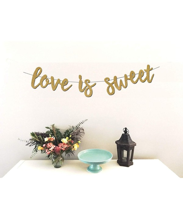 Love Sweet Banner Decoration Anniversary