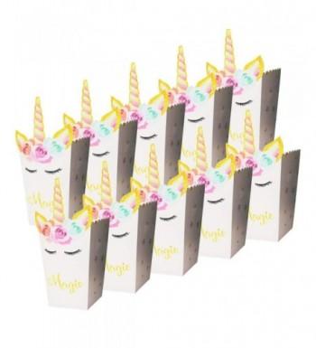 PartyYeah 24 Pack Rainbow Magical Birthday