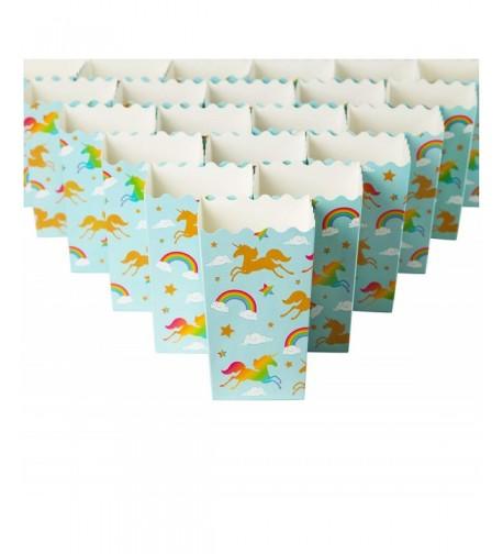 Set 100 Popcorn Favor Boxes