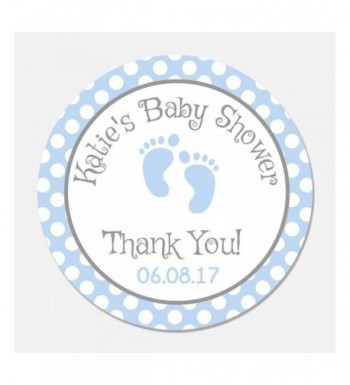 Personalized Baby Shower Favor Stickers