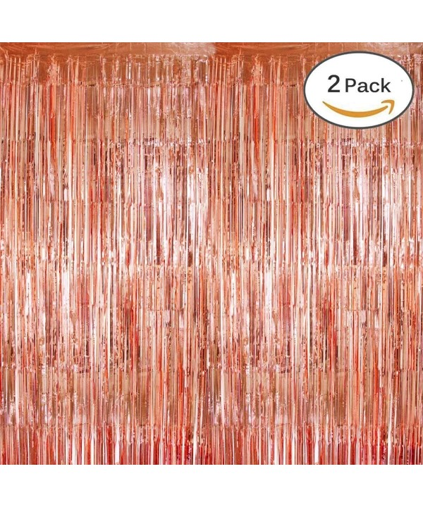 KUMEED Backdrop Curtains Metallic Photobooth