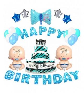 VSTON Birthday Decoration Balloon Silver