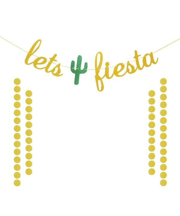 Fiesta Glittery Decorations Bachelorette Garland
