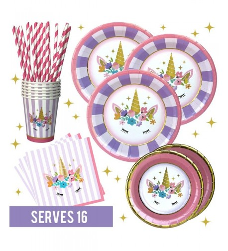Unicorn Party Supplies Set Collection