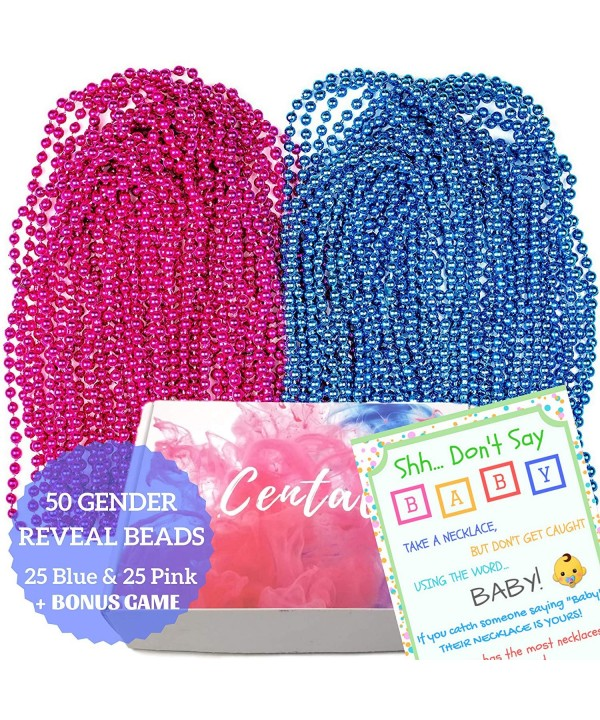 Gender Reveal Beads Necklaces plus
