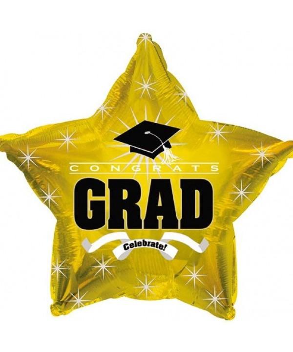 Shape Graduation Balloons School Colors