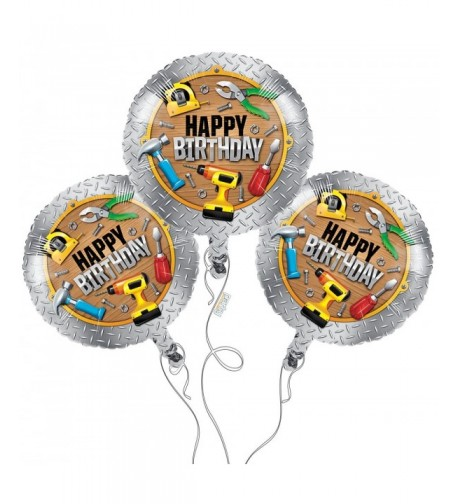 Handyman Happy Birthday Mylar Balloons