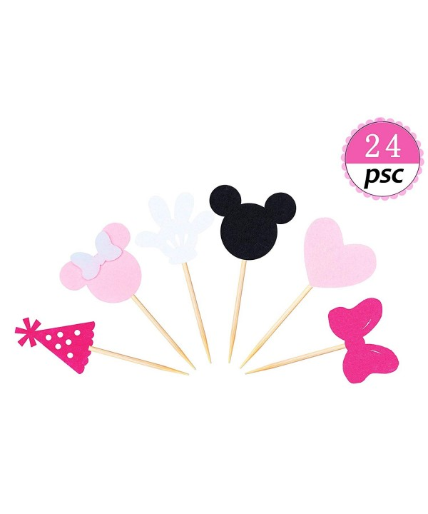 Inspired Cupcake Toppers Birthday Decorations