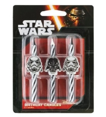 CakeDrake Trooper Striped Birthday CANDLES
