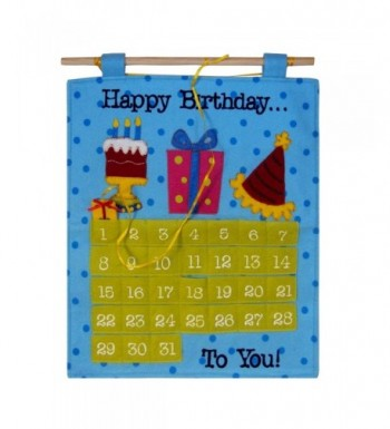 Birthday Countdown Calendar Celebration Decorations