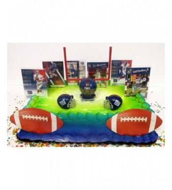 Giants Themed Birthday Cake Topper