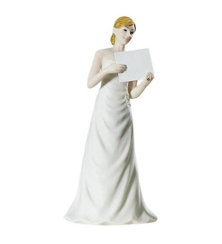 Weddingstar Read Sign Bride Figurine