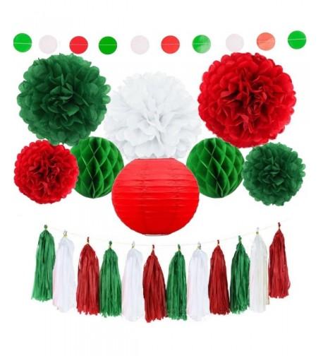Tissue Paper Pom Poms Decorations