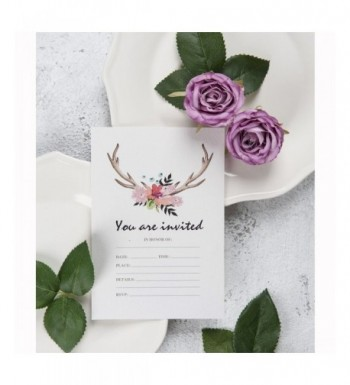 Cheap Bridal Shower Party Invitations Outlet