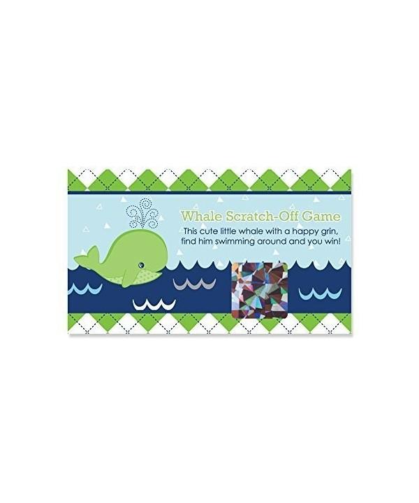 Tale Whale Shower Birthday Scratch