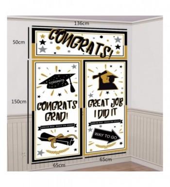 Graduation Backdrop Banner Decorations Supplies