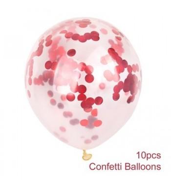 Confetti Birthday Balloons Decoration Kangkang