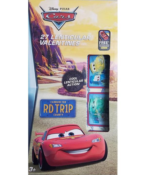 Disney Pixar Cars Lenticular Valentines
