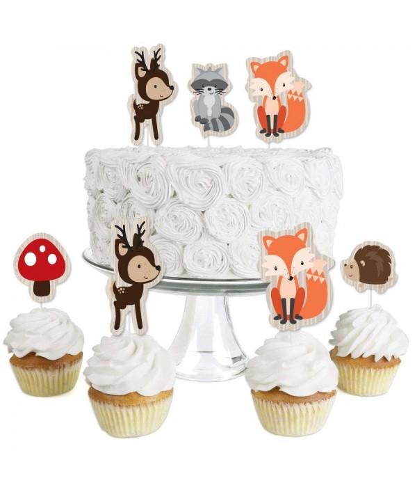 Woodland Creatures Dessert Cupcake Birthday