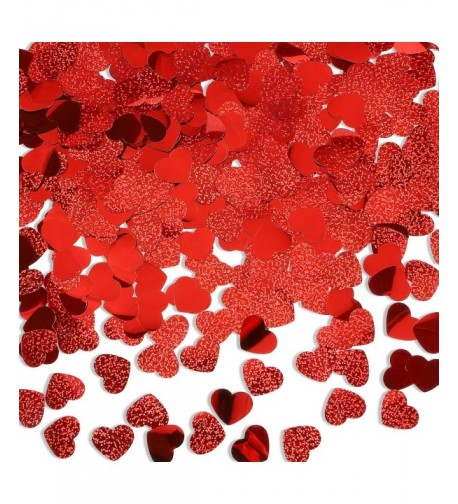 LeeSky Confetti Valentines Decoration Supplies