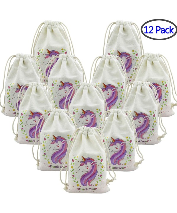 Unicorn PrettyLife Drawstring Birthday Supplies