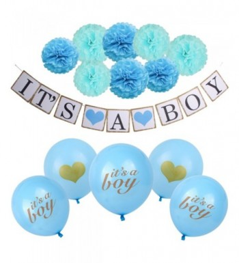 Decorations Supplies Including Balloons Turquoise