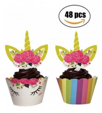 CAS Birthday Wrappers Unicornio Decorations