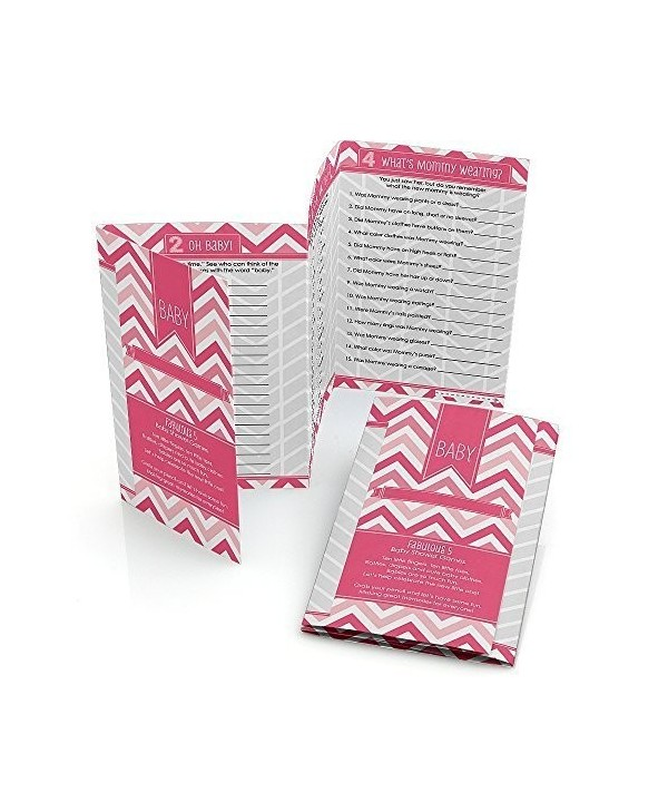 Big Dot Happiness Chevron Pink