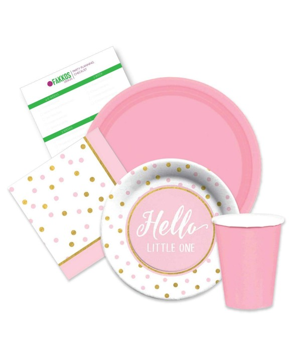 Elegant Shower Supplies dessert napkins