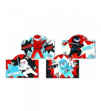Boys Ninja Valentine Card Assortment