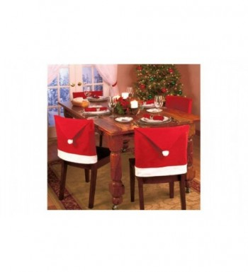 Santa Christmas Chair Covers Decorations