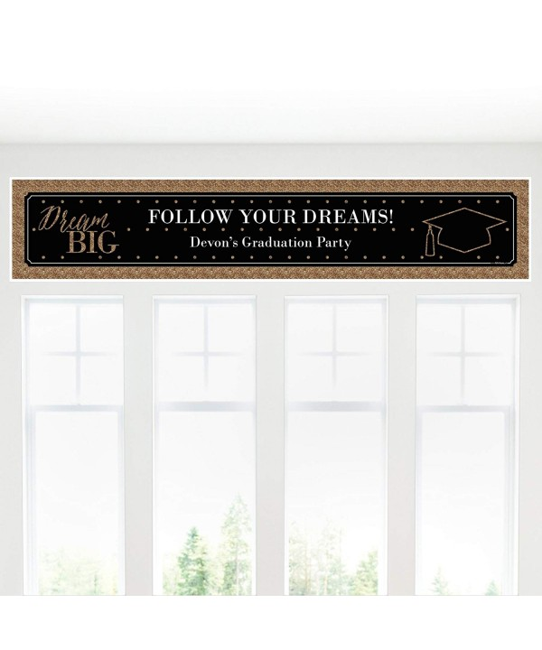 Custom Dream Big Personalized Decorations
