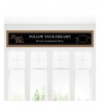 Custom Dream Big Personalized Decorations